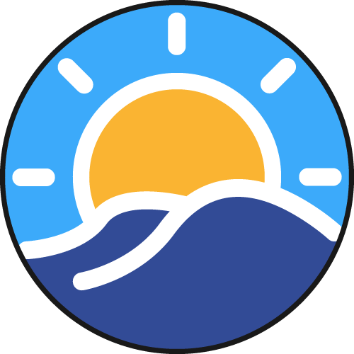 Sunny Clean Water Sticky Logo Retina